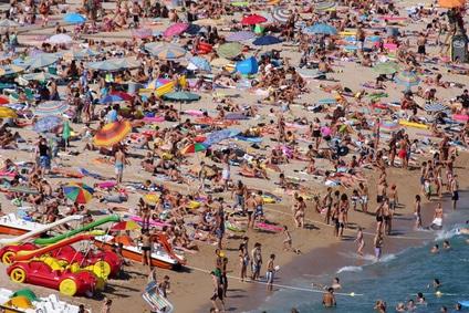 vacances avec enfants plage