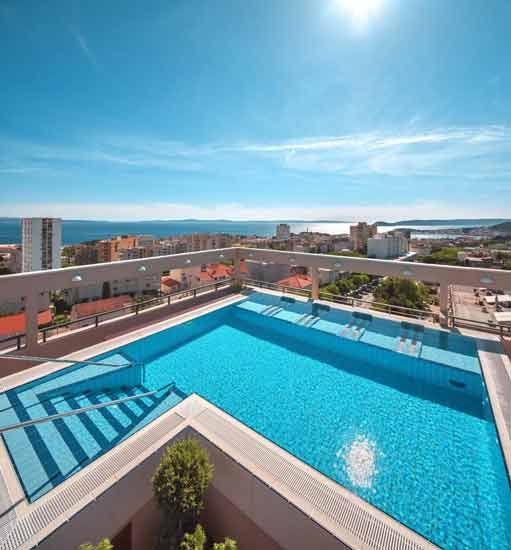 hotel-famille-croatie-split-avec-piscine