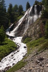 randonnée-famille-cascade-Queyras