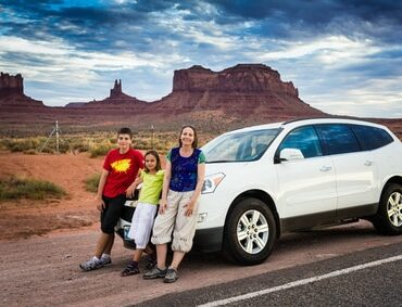 ouest américain conseil voyage famille monument valley