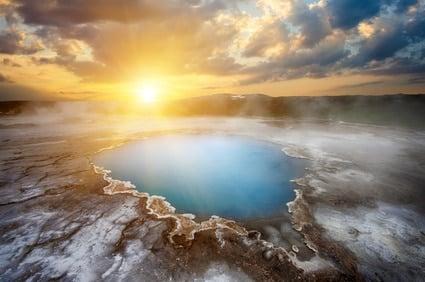 Hveravellir source chaude islande