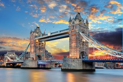 londres avec enfants en famille Tower Bridge in London