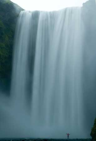 voyage en islande en famille cascade