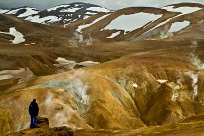 solfatare islande kerlingarfjoll