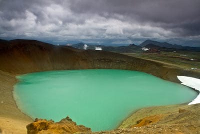 voyage en islande en famille cratère