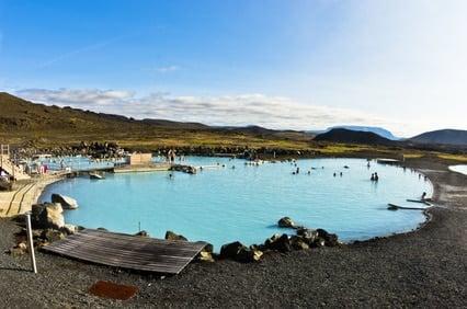Bain de myvatn islande