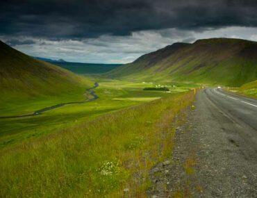 route-et-paysage-en-islande en famille