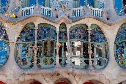 visiter barcelone en famille gaudi-casa batllo