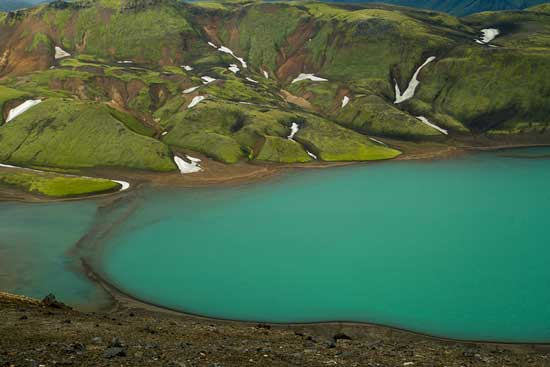 lac-randonnee Landmannalaugar-Islande