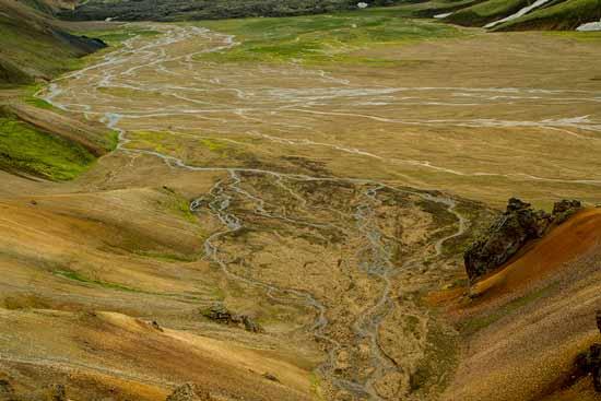 méandres-Landmannalaugar-Islande