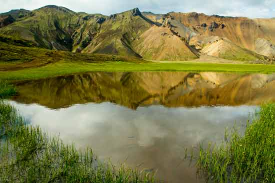 randonnée lac-Landmannalaugar-Islande