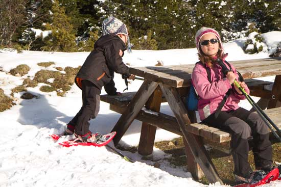 vercors-avec-enfants-randonnée-raquette