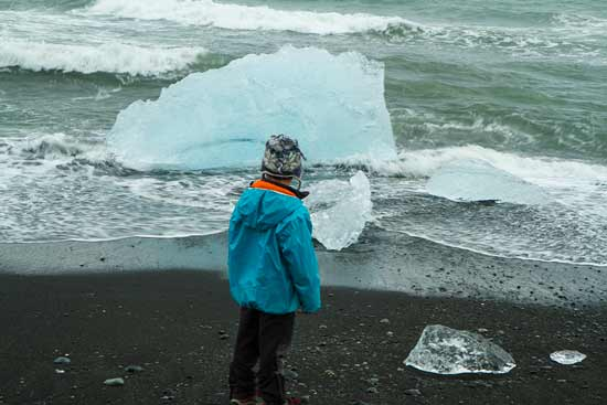 islande avec enfant lac-jokulsarlon-iceberg