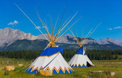 tipi-et montagne canada