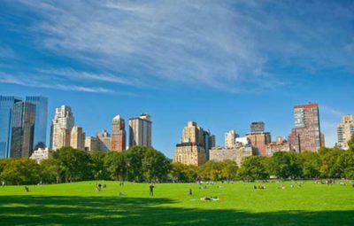 new-york-central-park avec enfants en famille