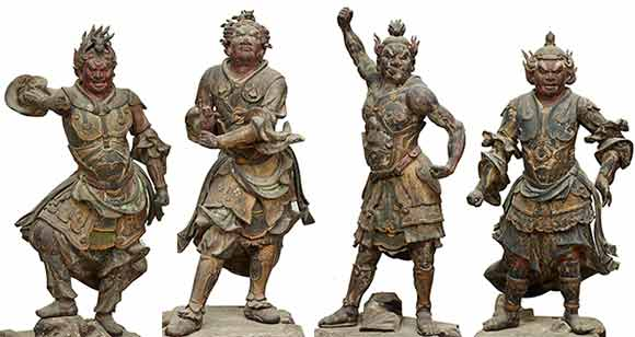 tokyo-musée-national-Japon-statues
