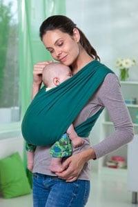 écharpe de portage bébé Amazonas