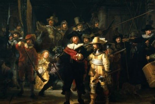 Rijksmuseum rembrandt ronde de nuit amsterdam