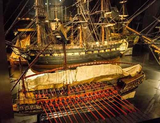 maquette-bateau-Rijksmuseum-amsterdam