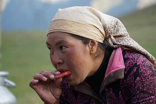 Kirghizistan-habitant-kirghize