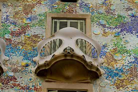 we barcelone famille casa-Batlló-gaudi