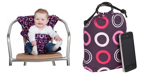Chaise nomade b b guide pour choisir un si ge de voyage voyage en famille avec enfants et week - Siege bebe adaptable chaise ...
