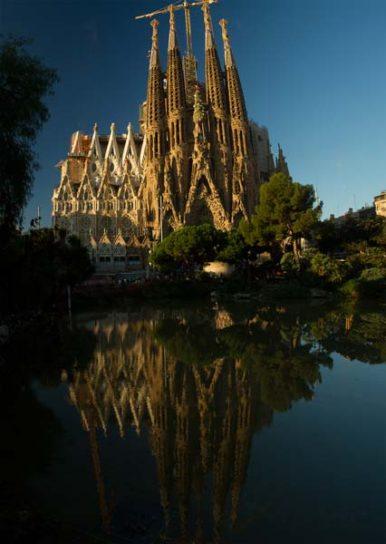 week end barcelone en famille sagrada-familia