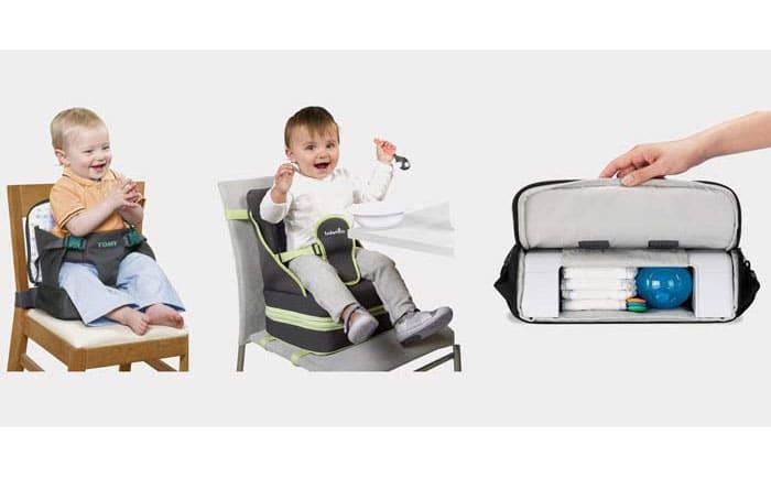 rehausseur nomade pour b b voyage en famille avec enfants. Black Bedroom Furniture Sets. Home Design Ideas