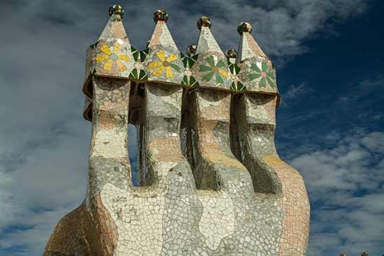 cheminées-casa-batllo-barcelone