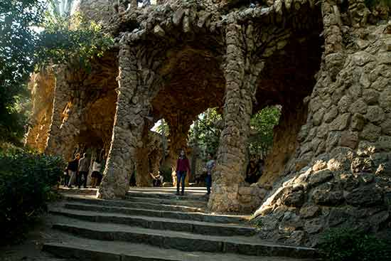 visite park guell