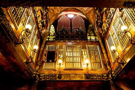 visiter Palais guell barcelone-