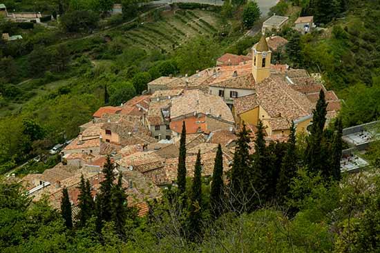 villages perchés nice