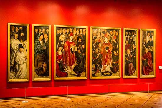 lisbonne avec enfants en famille tableau-musée-arte-antigua-