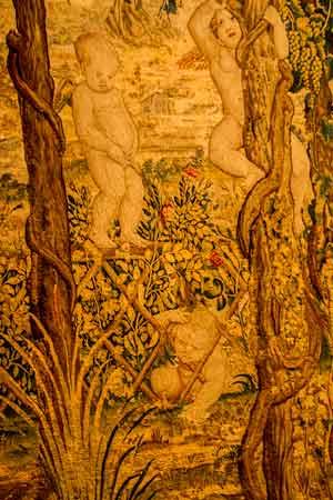 lisbonne avec enfants en famille tapisserie-musée-Calouste-Gulbenkian-