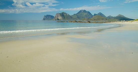 plage-lofoten-norvège