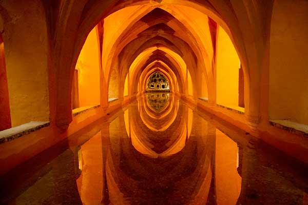 bain-maria-luisa-Alcazar-del-rey-Séville-Andalousie