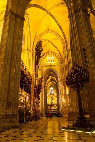 visite de la cathedrale de seville