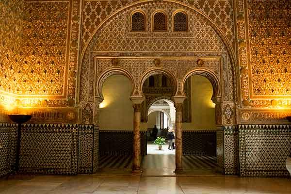 porte-trilobée-Alcazar-del-rey-Séville-Andalousie