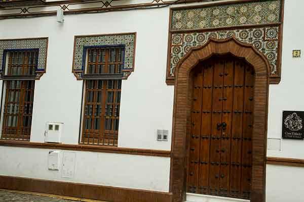 santa-cruz- seville en famille Andalousie