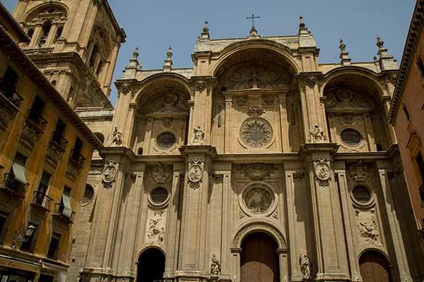 cathédrale-de-Grenade-Andalousie-Espagne