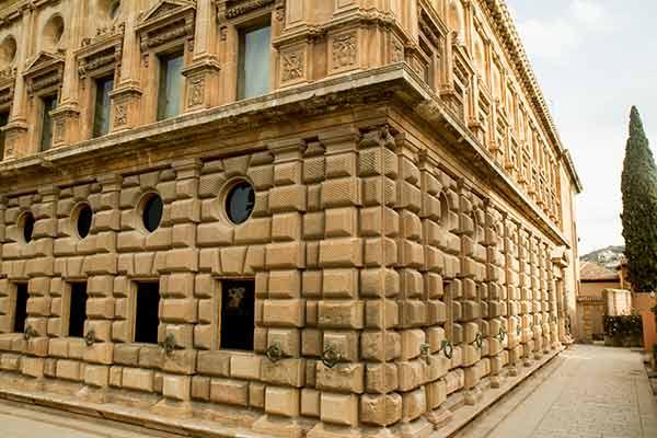 palais-charles-quint-Alhambra-Grenade-Andalousie-Espagne
