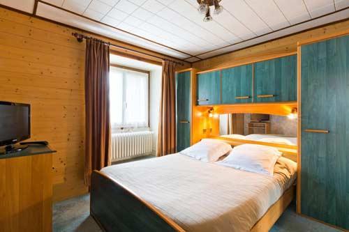 location hotel station familiale thollon alpes du nord
