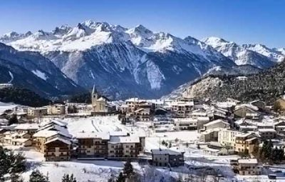 station de ski familiale aussois en hiver