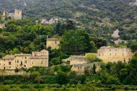 village 'Oppède-le-vieux dans le Lubéron