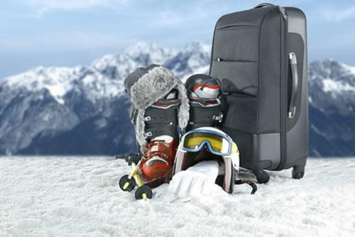 ski avec enfants equipement