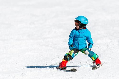ski en famille enfant