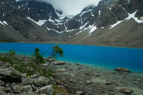 randonnée-laponie-lac