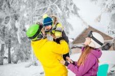 station de ski avec garderie pour bébé