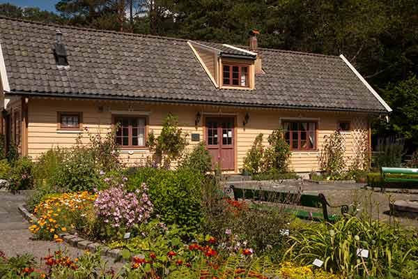 Norvège-jardin Milde près de Bergen