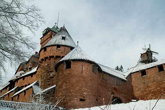 week end en alsace en famille chateau-haut-koenisbourg